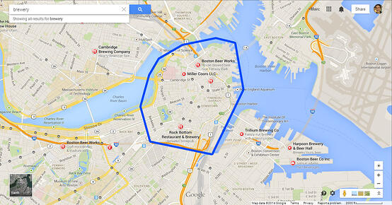 Breweries in Central Boston, INBOUND 2014