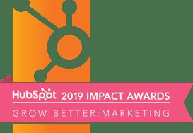 Hubspot Impact Awards 2019 Grow Better Marketing