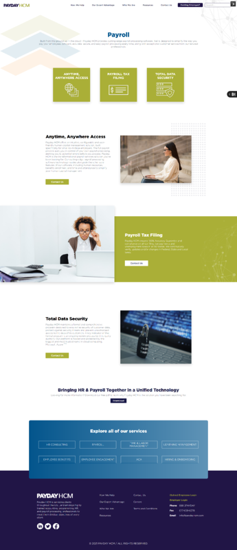 New Payroll Page