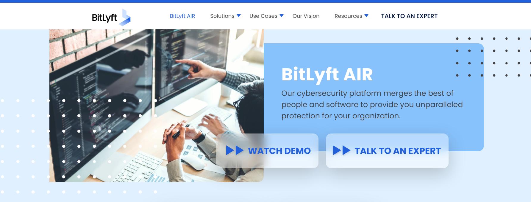 New BitLyft website banner
