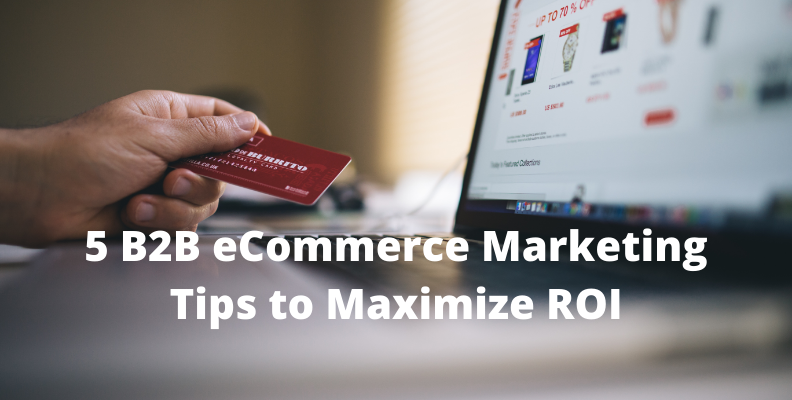 5 B2B eCommerce Marketing Tips to Maximize ROI