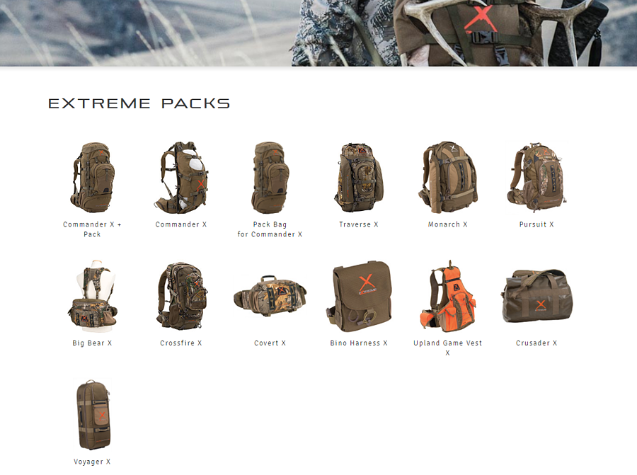 ALPS extreme packs