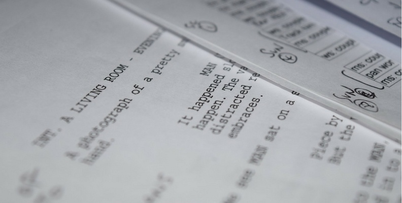 screenplay pages