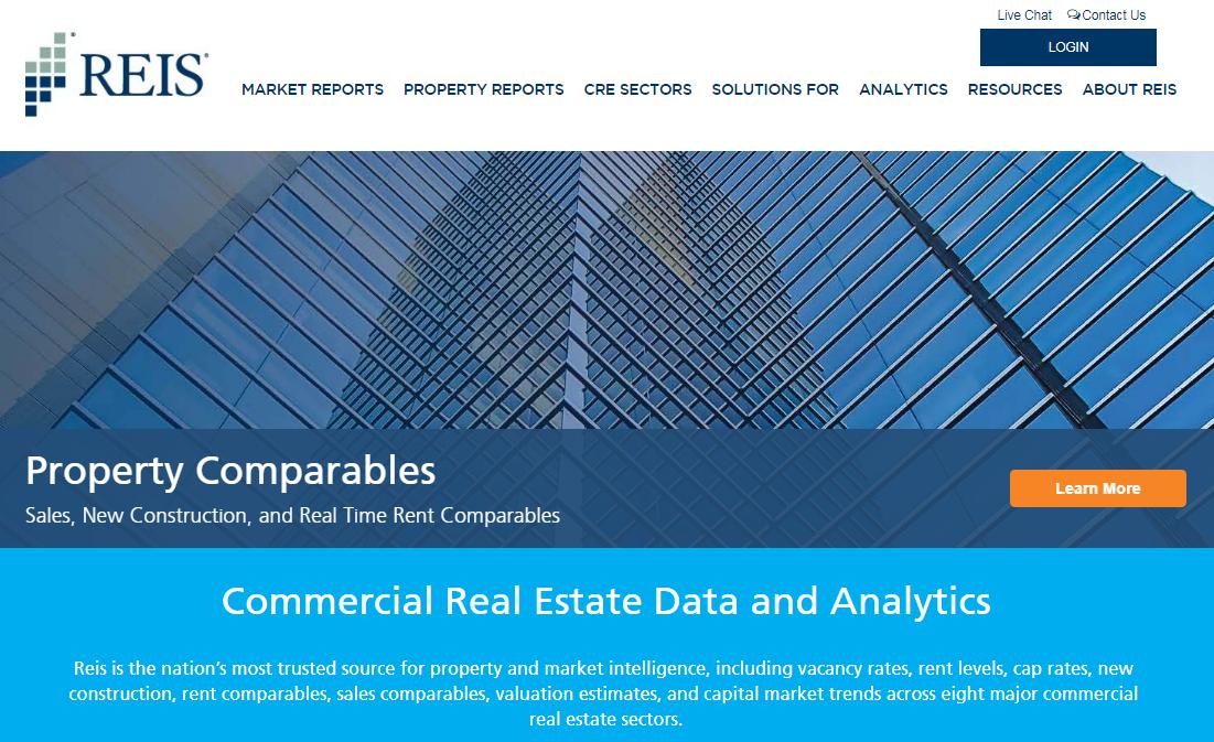 Reis.com website