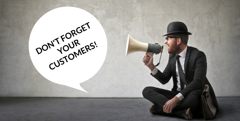 Focus on Your Customers in Your Content Marketing Image