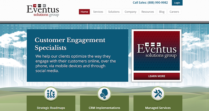 COS Web Redesign, Revenue River Success Story