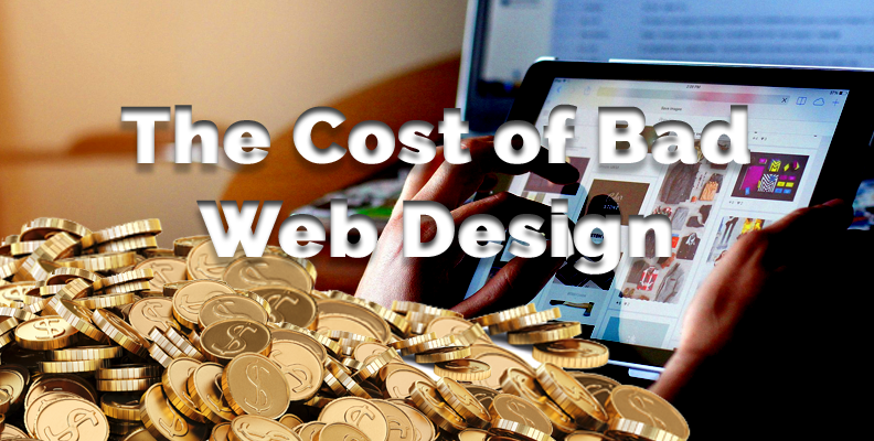 Cost of bad web design