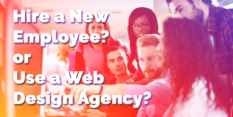 Hire an employee or a design agency?