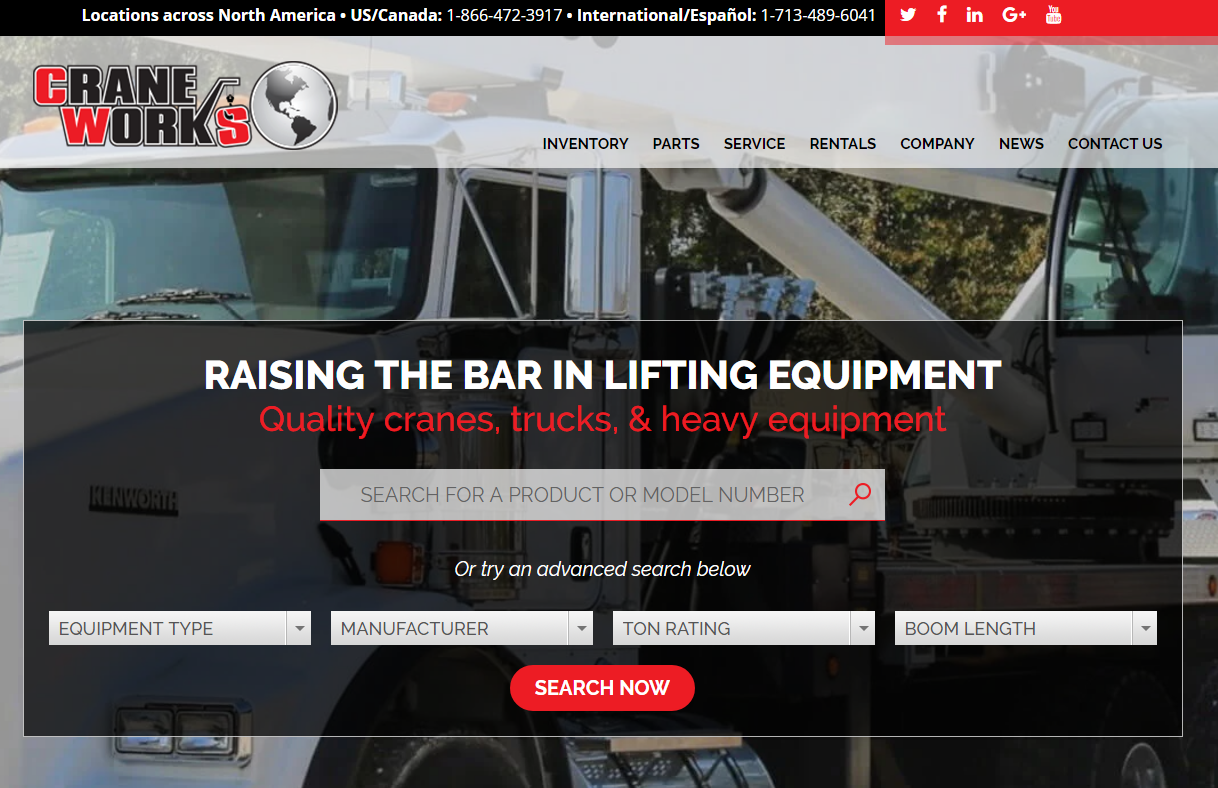 CraneWorks Homepage