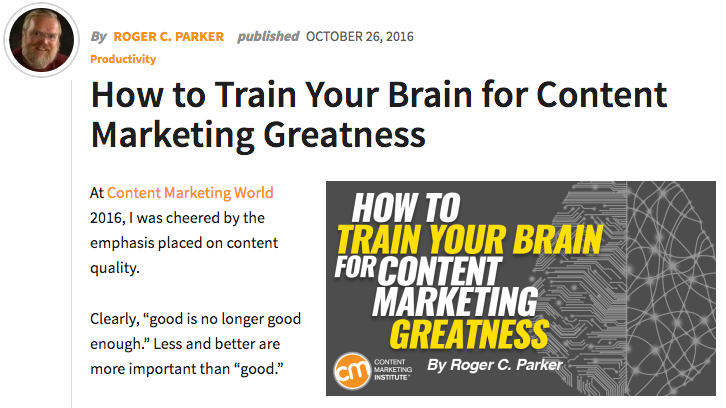 Content Marketing Best Practices from the Content Marketing Institute