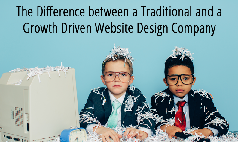 Difference between a traditional and GDD website company