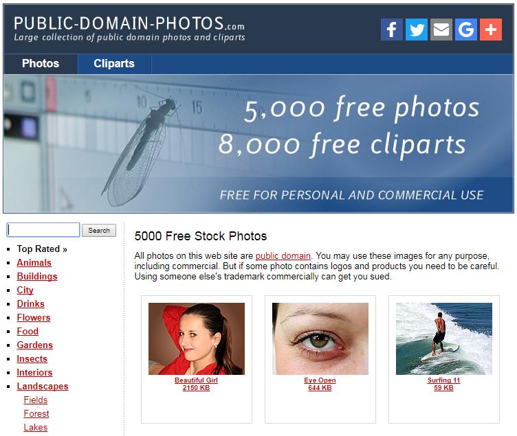 public domain photos