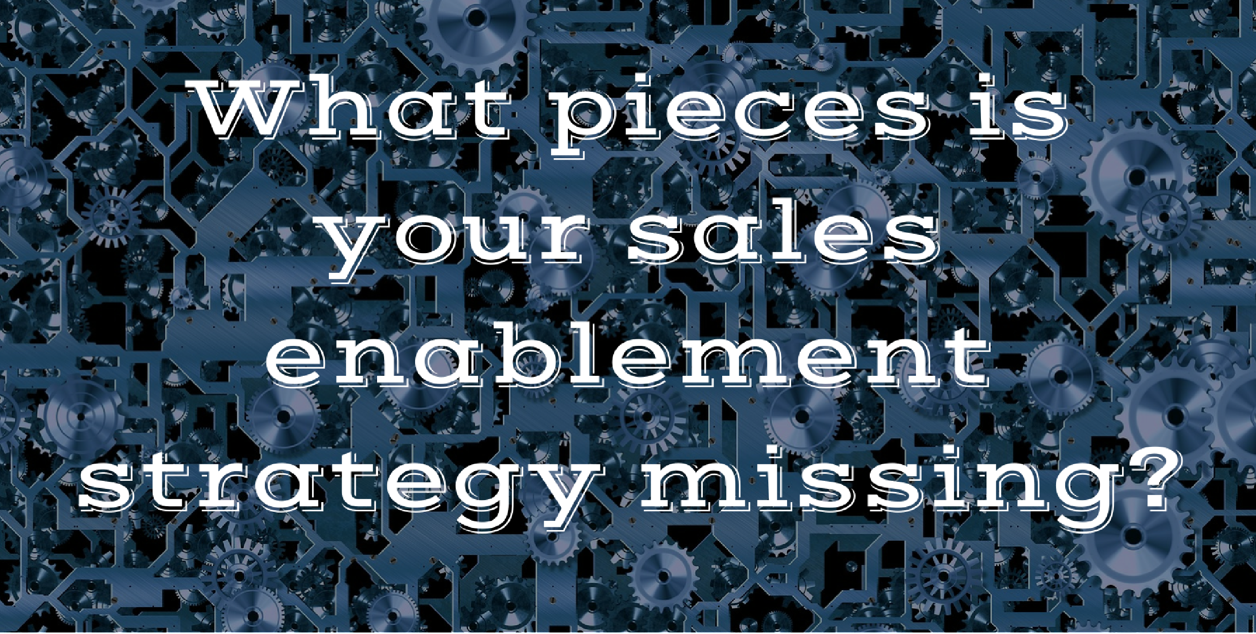 sales enablement strategy