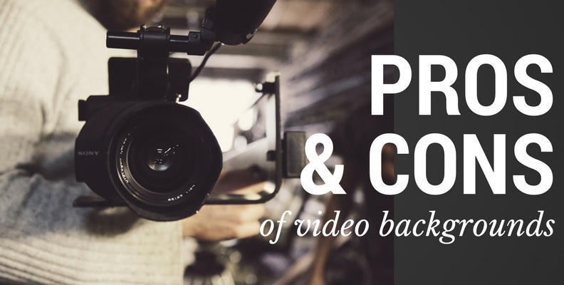 Video Backgrounds Pros and Cons - Revenue River Marketing