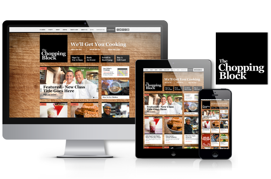 Responsive COS website development