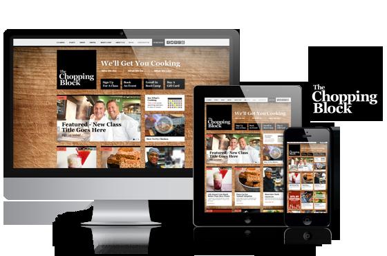 Responsive COS website development