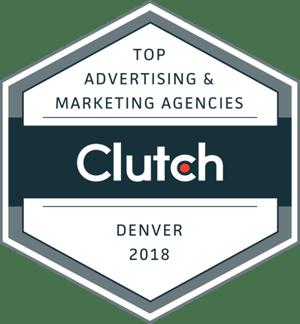 Clutch Top Digital Marketing Companies in Denver Badge 2019