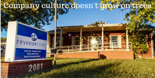 Culture doesn't Grow on Trees