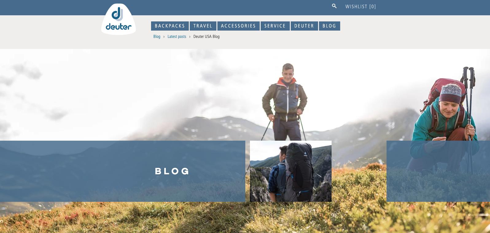 Deuter blog