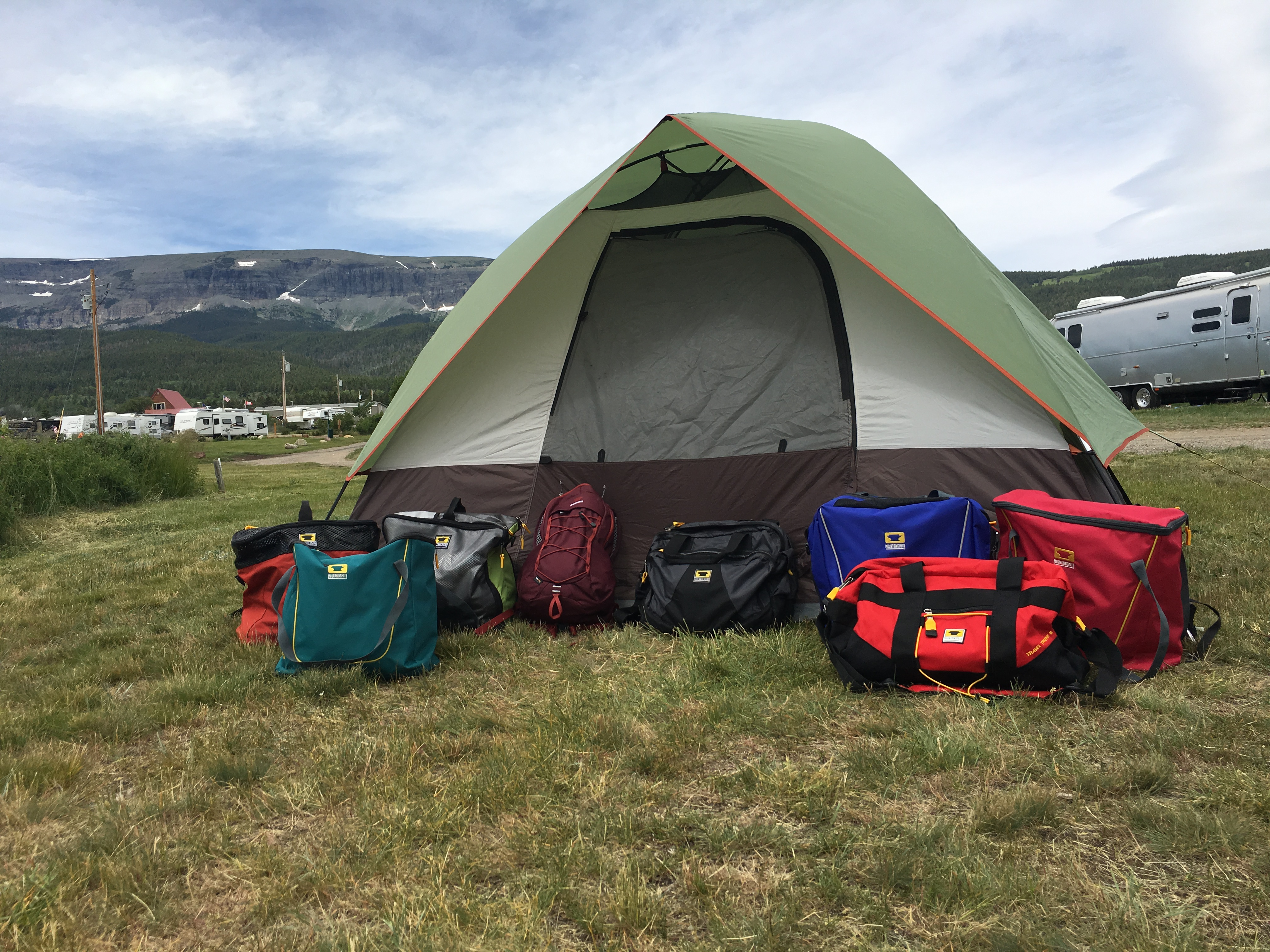 Mountainsmith camping bags