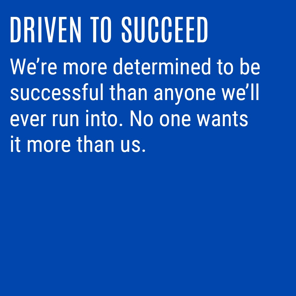 Our Culture Code - Driven To Succeed