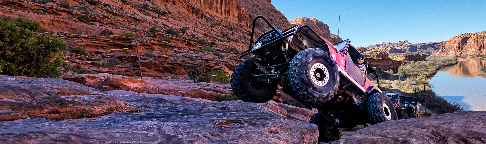 Eric on Moab Rim - Courtesy of Mountain Girl Photography