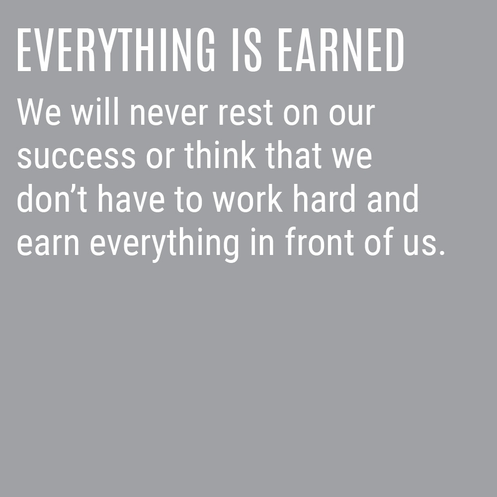 Our Culture Code - Everything Is Earned