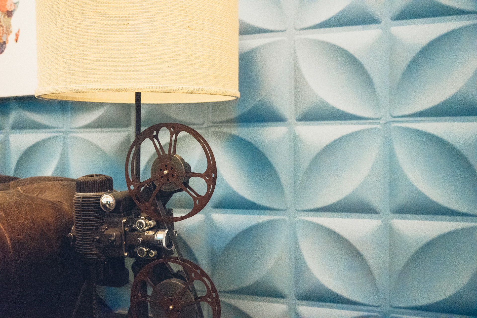35mm film projector
