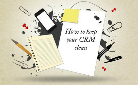 How to Keep your crm clean