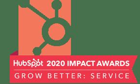 HubSpot Impact Awards 2020 Grow Better Service