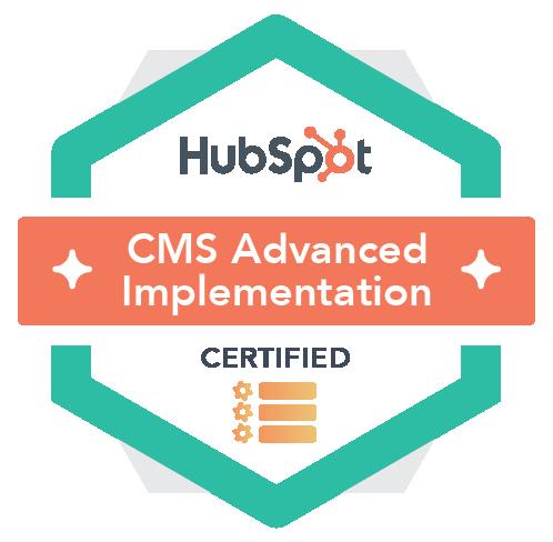 Hubspot CMS Advanced Implementation Certified