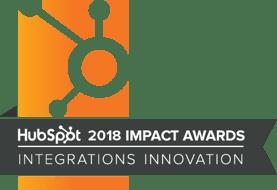 2018 Integrations Innovation Award Winner