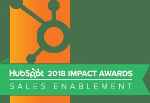 2018 Sales Enablement Award Winner