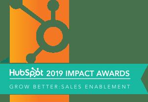 2019 Sales Enablement Award Winner