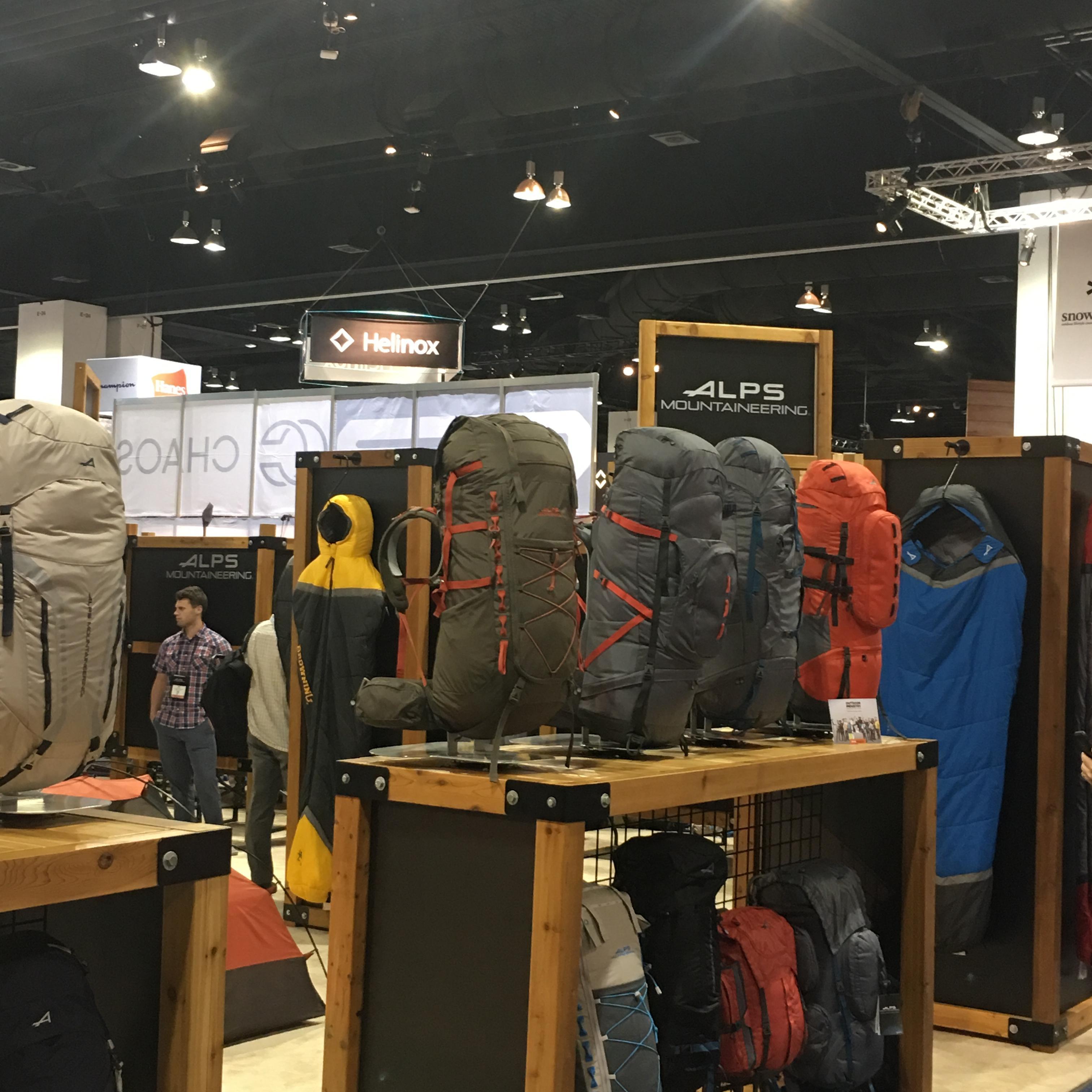 ALPS Mountaineering 2018 Summer Outdoor Retailer