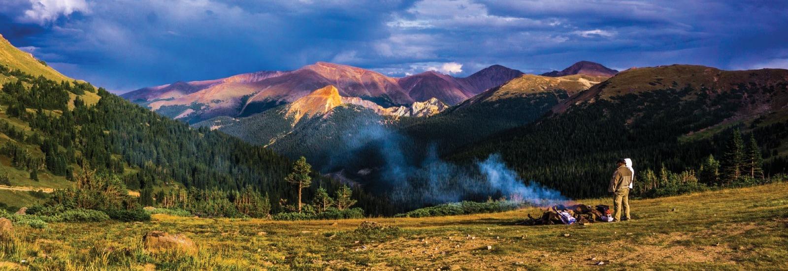 Jessica's Mountain Landscape