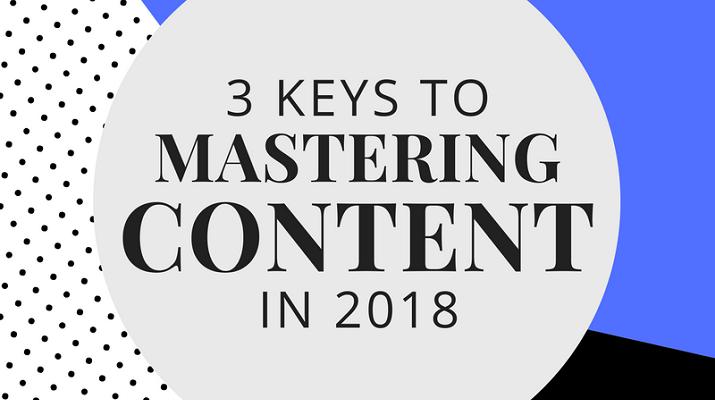 content creation 2018