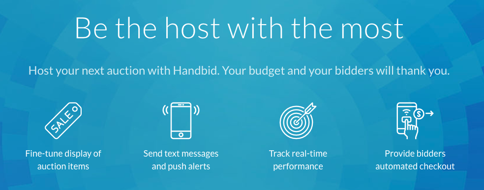 Handbid - Be the Silent Auction Host with the Most