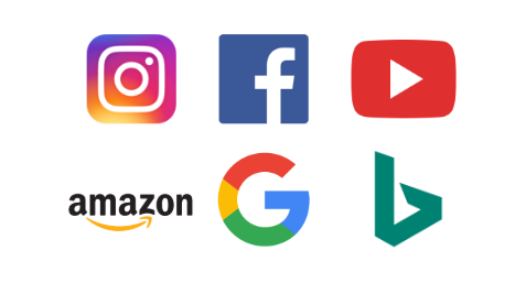 Six major search channels for products