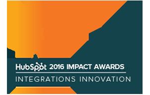 2016 hubspot integration award