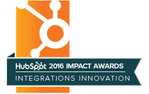 2016 hubspot integration award