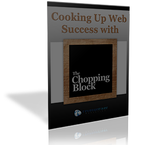 the chopping block cos website design