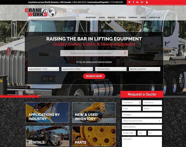 Craneworks Custom Website Development Services