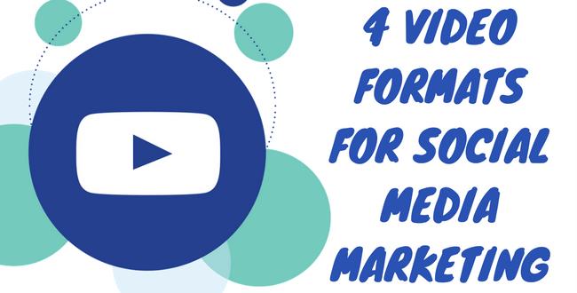 Video Formats for Socal Media Marketing