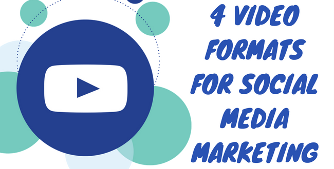 Video Formats for Socal Media Marketing