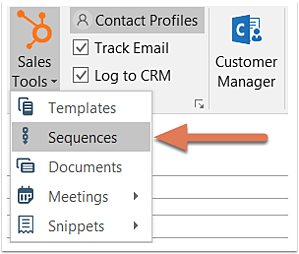 hubspot-outlook-sales-tools-use-sequences
