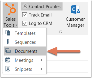 hubspot-sales-outlook-extension-use-documents