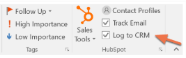 hubspot-outlook-sales-extension-log-and-track