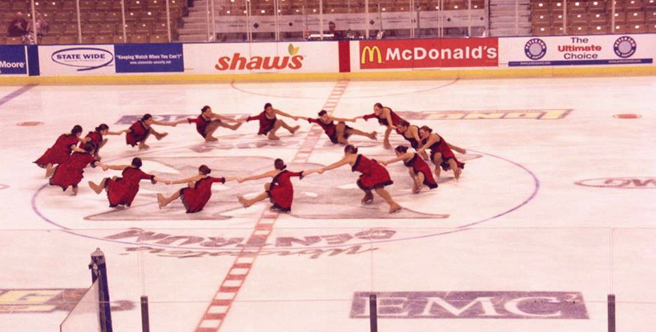 Jenna Bos Wallace Synergy Figure Skating Team