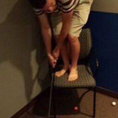 Office golf competitions